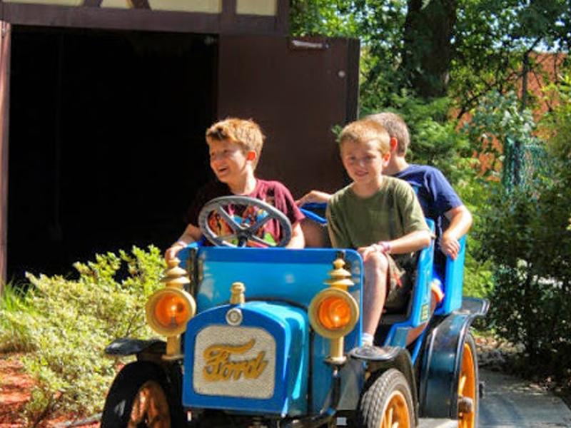 Theme Park Antique Cars In Long Island, New York - Adventureland