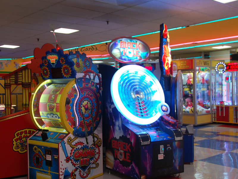 Amusement Park Arcades And Outdoor Games In Long Island