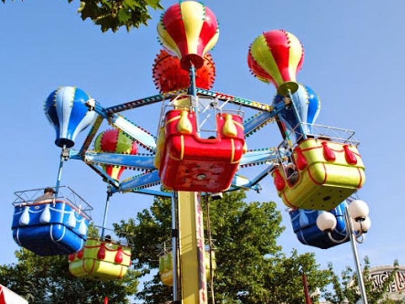 Balloon Tower Adventureland Amusement Park Long Island