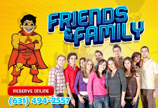 friends & family group events new york