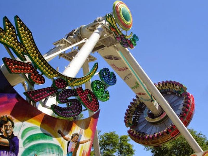 Frisbee Adventureland Amusement Park Long Island New York