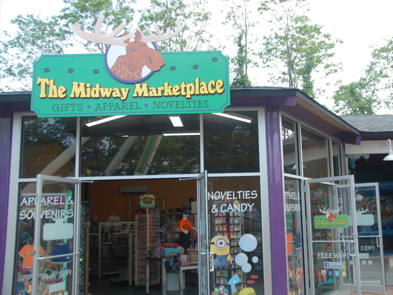 Midway Market Attraction