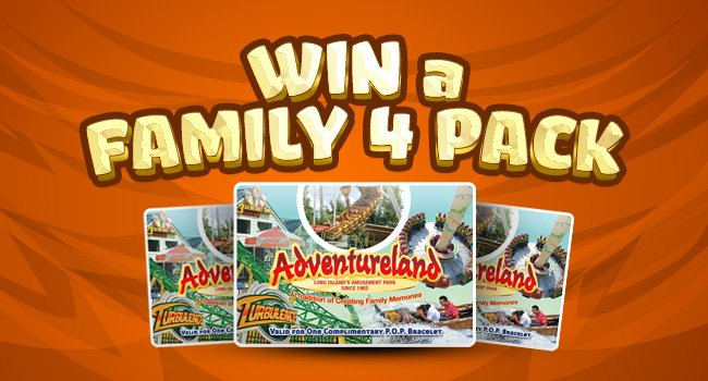 2a48928c1ca0 Amusement Park Family Four Pack Passes - Adventureland