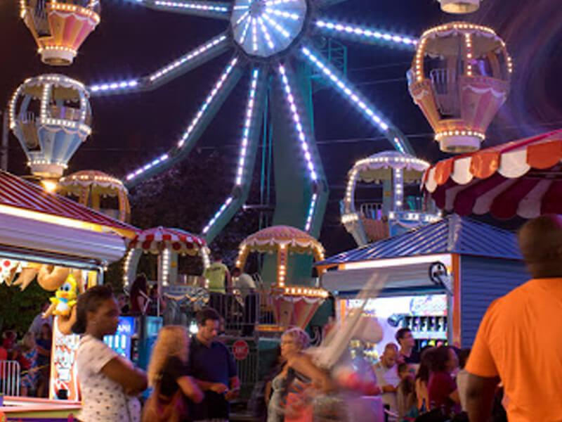 Ferris Wheel Adventureland Amusement Park Long Island
