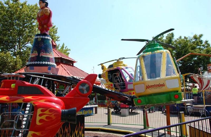 Helicopters Adventureland Amusement Park Long Island New