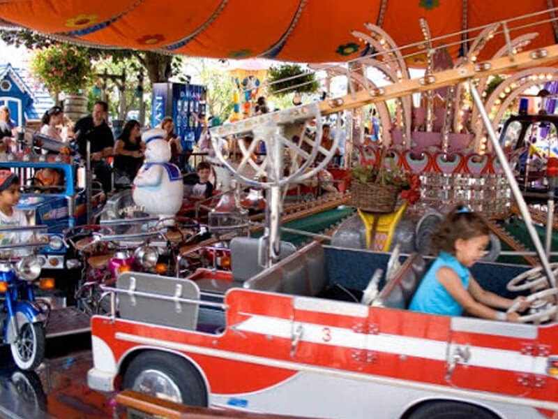Kiddie Carousel Adventureland Amusement Park Long Island