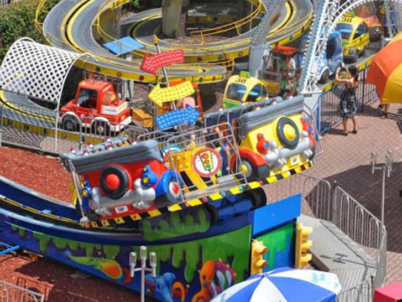 Spinning Cars Adventureland Amusement Park Long Island