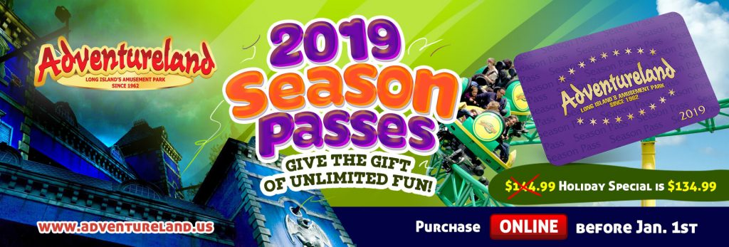 2019 Season Pass Holiday sale!