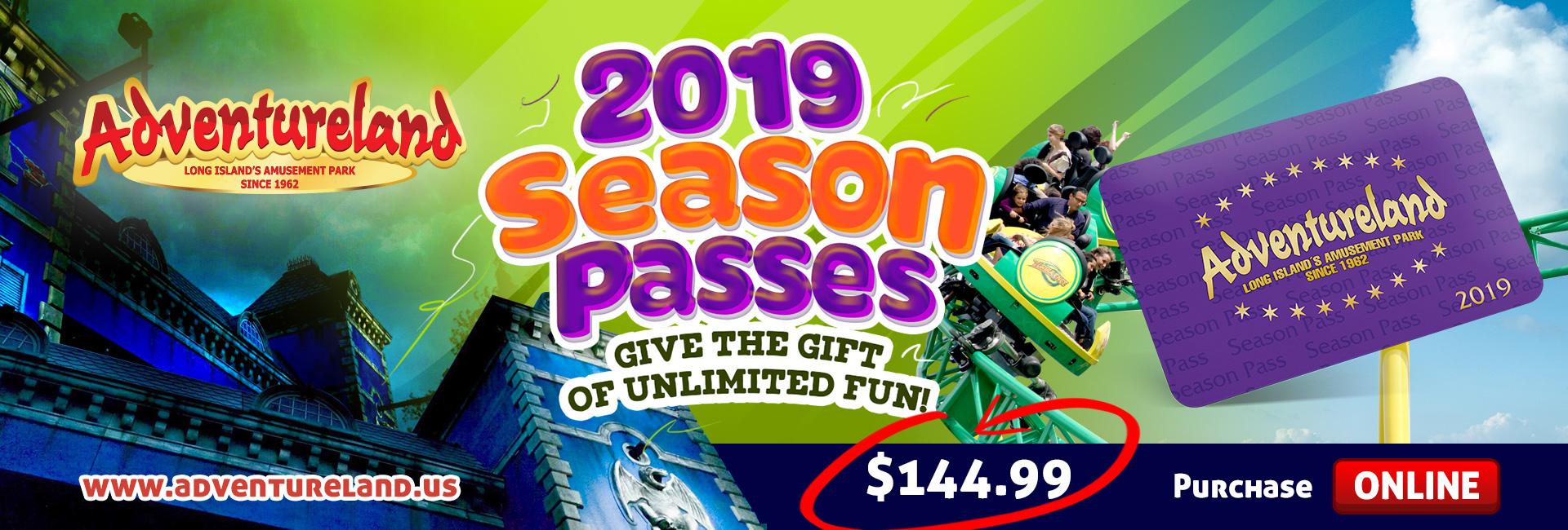 2019 Season Passes Available!