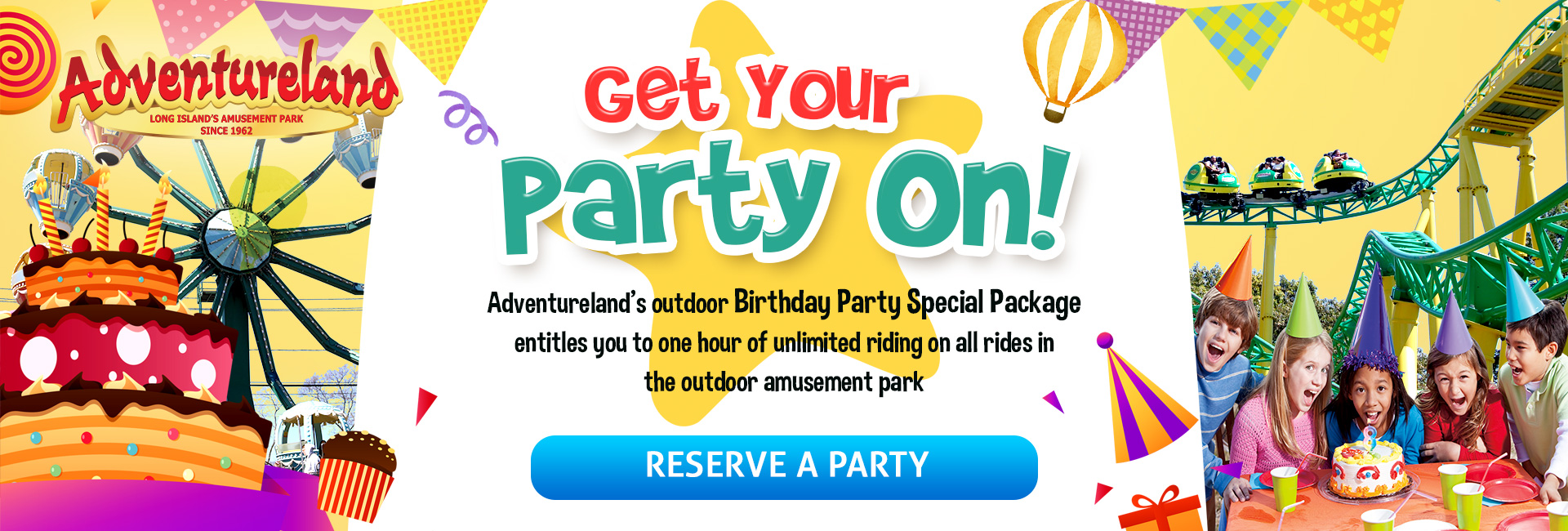 Birthday Parties At Adventureland