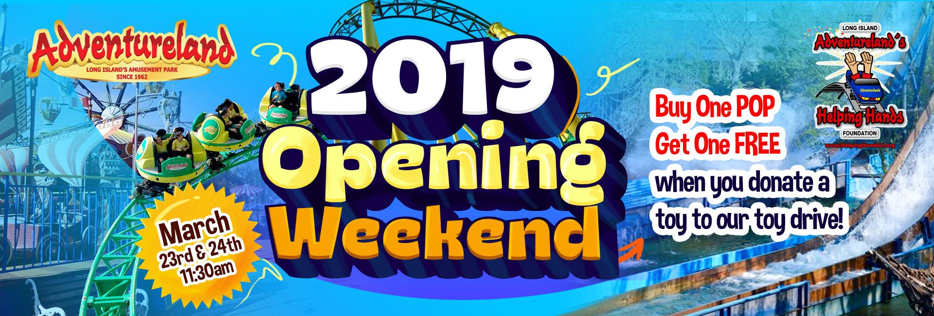2019 Opening Weekend