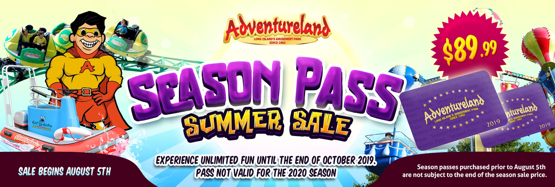 Season Pass Summer Sale
