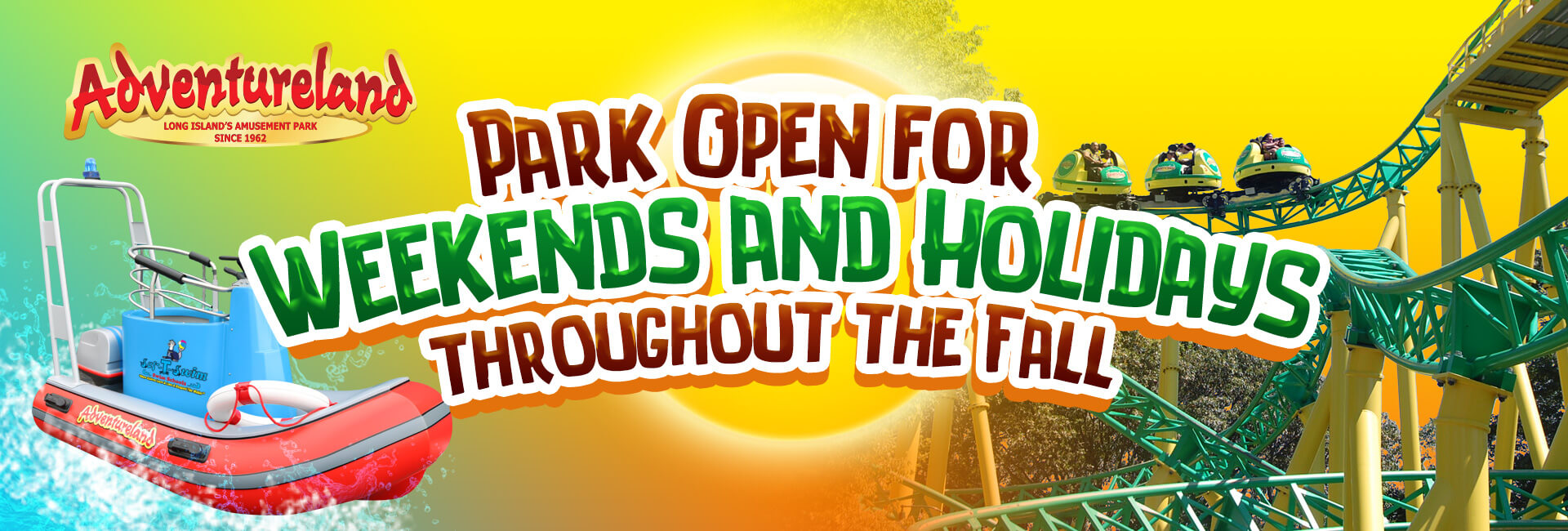 Park Open Weekends and Holidays