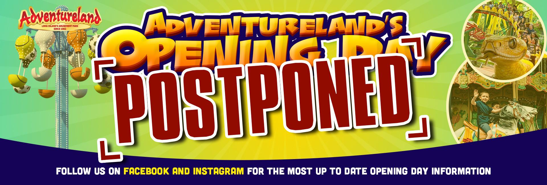 Opening Day Postponed