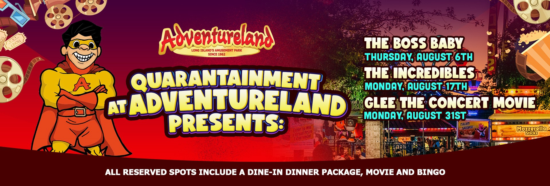 Quarantainment at Adventureland