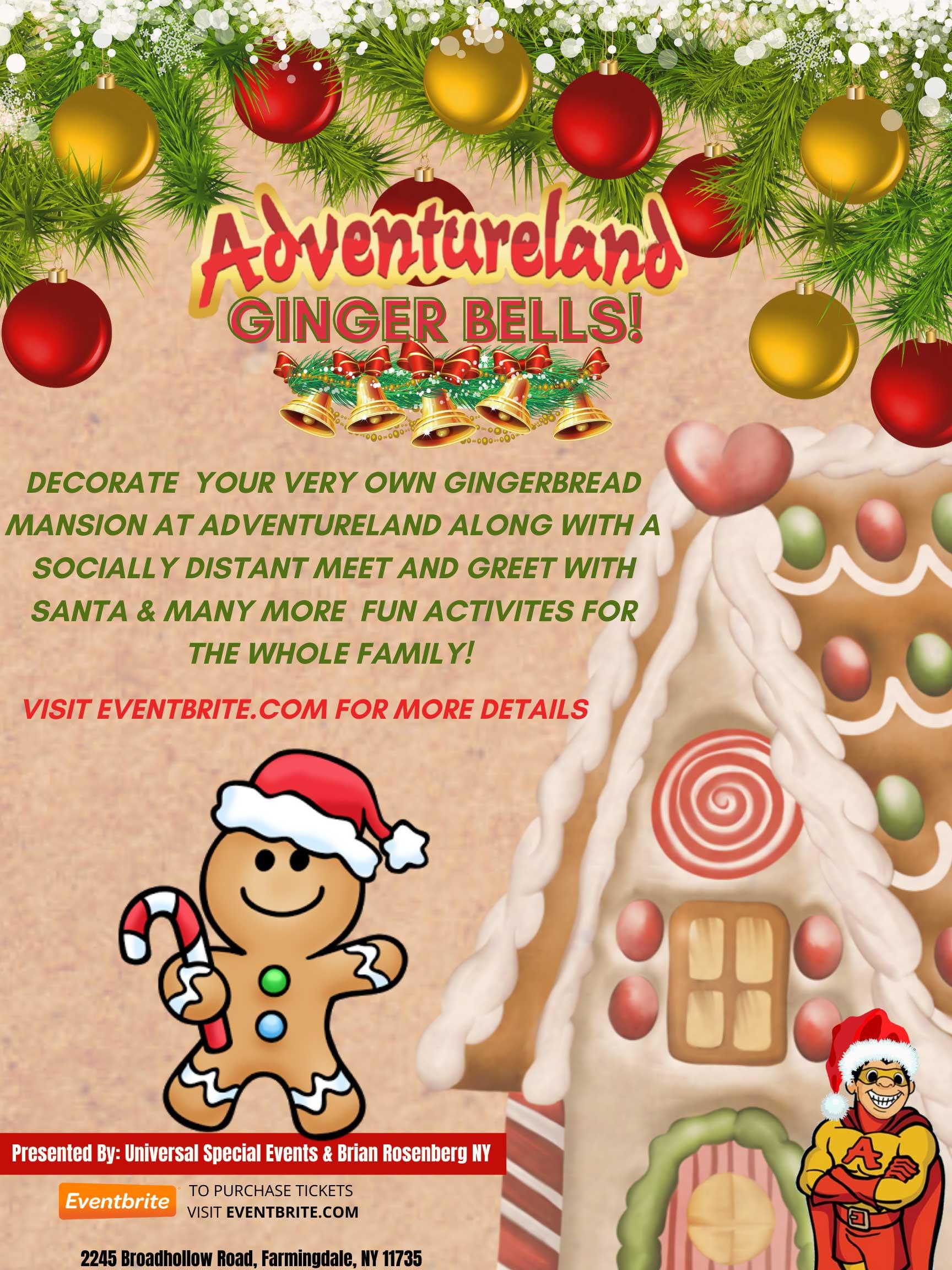 Adventureland Ginger Bells