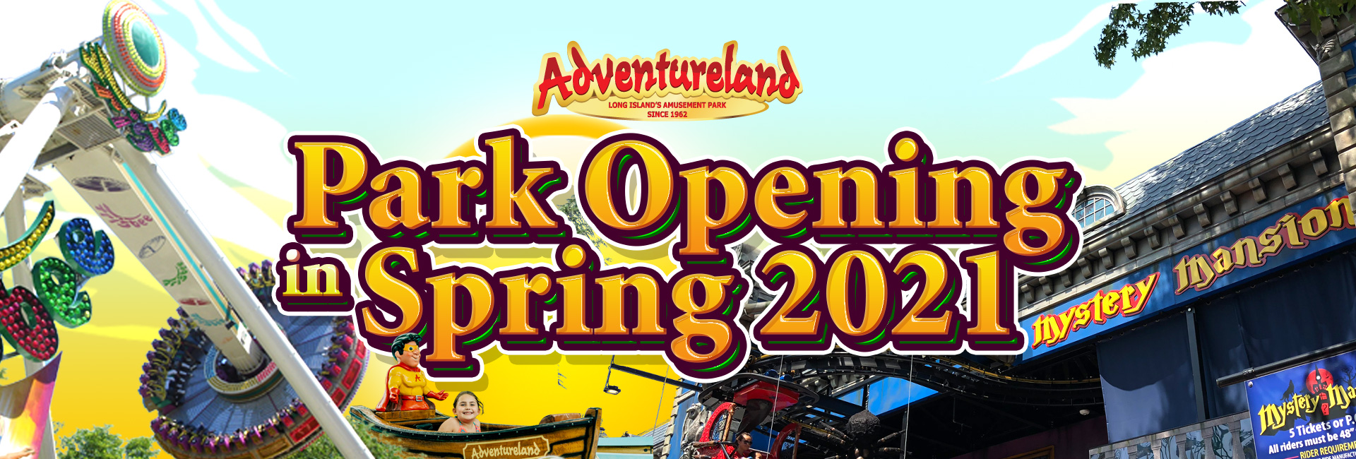 Park Opening in Spring 2021