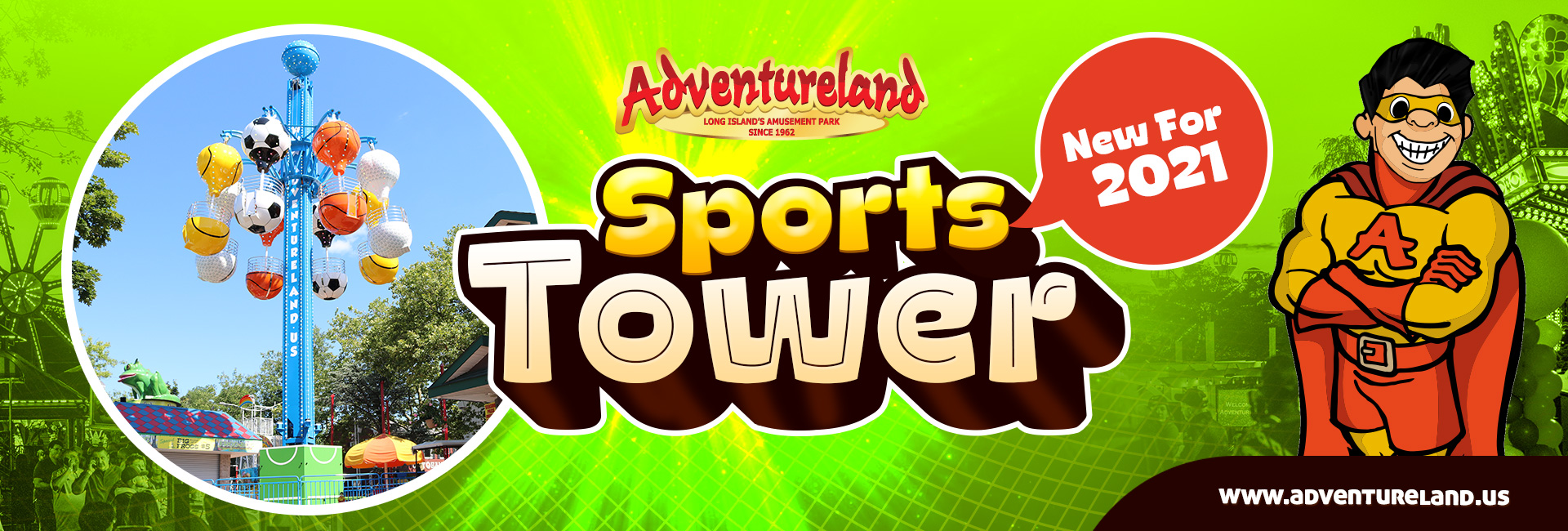 Sports Tower New for 2021