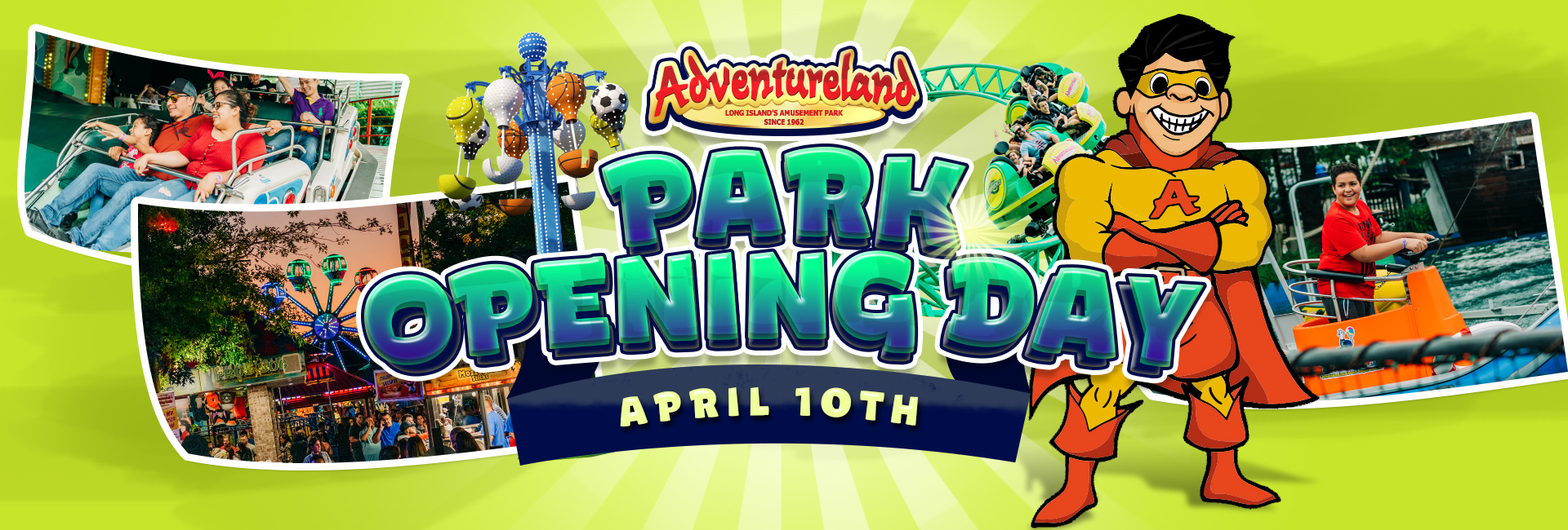 Park Opening Day April 10th